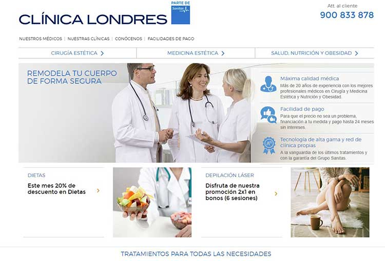 clinica londres opiniones