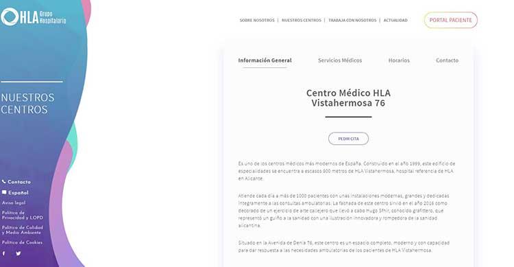 Clinica Vistahemosa Alicante opiniones