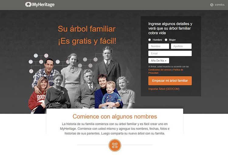 MyHeritage España