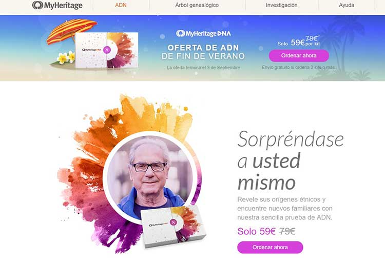 MyHeritage Opiniones