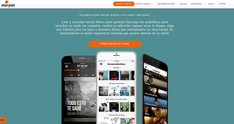 Storytel gratis
