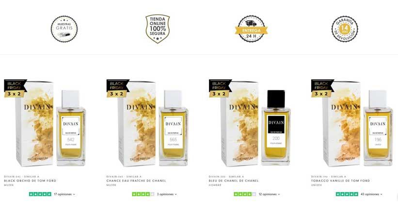 divain perfumes