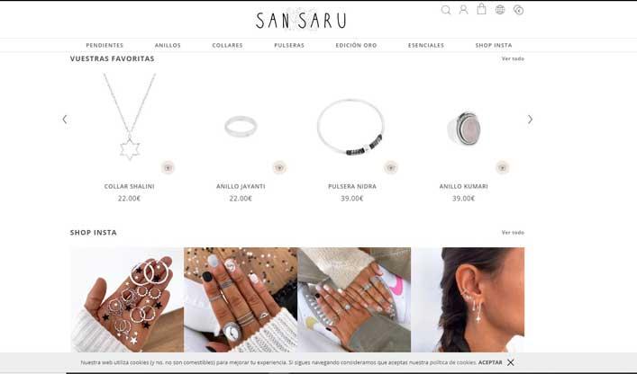 san saru shop