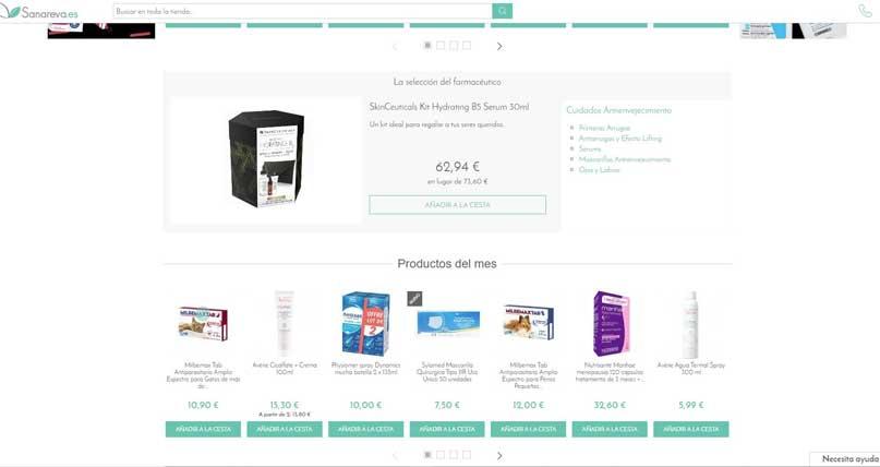 sanareva farmacia online
